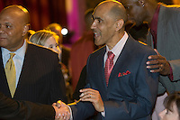 FREE_BoysAndGirls..Caption:(Thursday 11/05/2009 Tampa )Tony Dungy greets guests during the Boys and Girls Club 28th Annual Steak Dinner presented by Outback Steakhouse and Busch Gardens Tampa Bay. This years event honored Tony Dungy...Summary: 28th Annual Steak Dinner for Boys and Girls Club...Photo by James Branaman