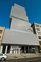 The New Museum of Contemporary Art , NYC, NY, designed by the Japanese firm Sanaa, architects, Kazuyo Sejima and Ryue Nishizawa