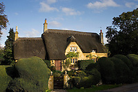 Thatched cottage in Chipping Campden, Gloucestershire, United Kingdom