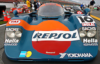 Porsche on display at the Rennsport Reunion, Daytona INternational Speedway, Daytona Beach, FL, November 2007.  (Photo by Brian Cleary/www.bcpix.com)