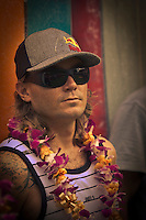 HALEIWA, HI  Jamie Stirling (HAW)  (Thursday Dec. 3, 2009) The opening ceremony of the Quiksilver in Memory of Eddie Aikau was held today at Waimea Bay. This year's event is the 25th Anniversary  and will be held on one day , between December 1, 2009 and February 28, 2010, when the waves eceed the  20 foot  minimum threshold and the 28 invitees will compete for the $98.000 prize purse...The northern hemisphere winter months on the North Shore signal a concentration of surfing activity with some of the best surfers in the world taking advantage of swells originating in the stormy Northern Pacific. Notable North Shore spots include Waimea Bay, Off The Wall, Backdoor, Log Cabins, Rockpiles and Sunset Beach... Ehukai Beach is more  commonly known as Pipeline and is the most notable surfing spot on the North Shore. It is considered a prime spot for competitions due to its close proximity to the beach, giving spectators, judges, and photographers a great view...The North Shore is considered to be one the surfing world's must see locations and every December hosts three competitions, which make up the Triple Crown of Surfing. The three men's competitions are the Reef Hawaiian Pro at Haleiwa, the O'Neill World Cup of Surfing at Sunset Beach, and the Billabong Pipeline Masters. The three women's competitions are the Reef Hawaiian Pro at Haleiwa, the Gidget Pro at Sunset Beach, and the Billabong Pro on the neighboring island of Maui...Photo: Joliphotos.com