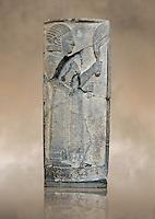 Relief panels orthostat from Sam 'al /Zincirli. Neo Syro Hittite.  Basalt around 730 BC. Vorderasiatisches Museum, Pergamon Museum, Berlin.