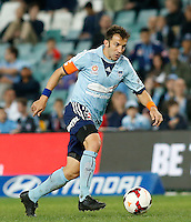 Sydney FC Alessandro Del Piero during his A-League match against Perth Glory in Sydney, April 13, 2014. Photo by Daniel Munoz/VIEWPRESS EDITORIAL USE ONLY