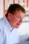 21 May 2006: Jim Bowden, General Manager of the Washington Nationals, in the dugout prior to a game against the Baltimore Orioles at RFK Stadium in Washington, DC. The Nationals defeated the Orioles 3-1 to take 2 of 3 games in their first inter-league series...Mandatory Photo Credit: Ed Wolfstein Photo..