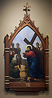 Stations of the Cross in the Basilica of the Sacred Heart.  Station 8...Photo by Matt Cashore..