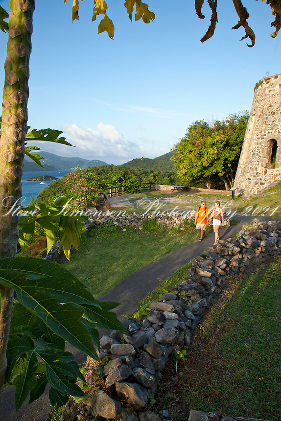 Annaberg Sugar Plantaion Ruins.Virgin Islands National Park.St. John.U.S. Virgin Islands