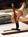 Annual calligraphy jamboree at Nihon Budokan Martial Arts Hall
