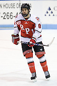 Mike Bergin (RPI - 8) - The visiting Rensselaer Polytechnic Institute Engineers tied their host, the Northeastern University Huskies, 2-2 (OT) on Friday, October 15, 2010, at Matthews Arena in Boston, MA.