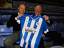 Football-Uwe Rosler Press Conference-DW Stadium-09/12/2013-Pictures by Paul Currie-KEEP-Uwe Rosler with Dave Whelan as he is unveiled as the new manager of Wigan Athletic