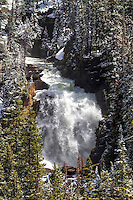 Beartooth Falls, from the Beartooth Highway