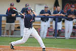 Mississippi's Kevin Mort bats vs. Murray State in college baseball action at Oxford-University Stadium in Oxford, Miss. on Tuesday, April 27, 2010.