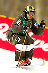 15 January 2005 - Lake Placid, New York, USA - Tapio Luusua representing Finland, competes in the FIS World Cup Men's Moguls Freestyle ski competition, ranking 17th for the day, at Whiteface Mountain, Lake Placid, NY. ..Mandatory Credit: Ed Wolfstein Photo.