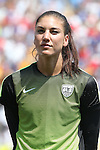 16 August 2015: Hope Solo (USA). The United States Women's National Team played the Costa Rica Women's National Team at Heinz Field in Pittsburgh, Pennsylvania in an women's international friendly soccer game. The U.S. won the game 8-0.