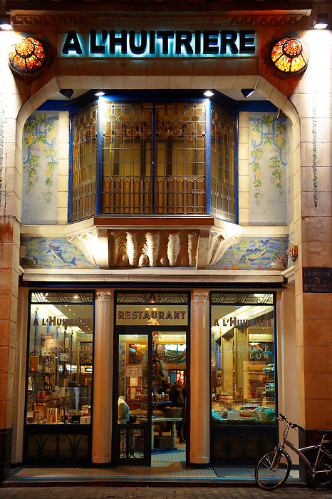 A L;Huitiere art deco restaurant Lille