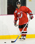 Brian Gionta takes part in the  first session on Saturday, September 15, 2007 of the New Jersey Devils training camp on Rink 2 of the Richard E. Codey Arena at South Mountain in West Orange, New Jersey...