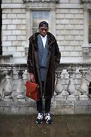 London Fashion Week Street Style February 2014