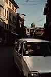 Street scene, downtown Srinagar