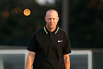 28 August 2016: SLU head coach Mike McGinty. The University of North Carolina Tar Heels hosted the Saint Louis University Billikens at Fetter Field in Chapel Hill, North Carolina in a 2016 NCAA Division I Men's Soccer match. UNC won the game 3-0.