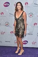 Garbine Muguruza Blanco at WTA pre-Wimbledon Party at The Roof Gardens, Kensington on june 23rd 2016 in London, England.<br /> CAP/PL<br /> &copy;Phil Loftus/Capital Pictures /MediaPunch ***NORTH AND SOUTH AMERICAS ONLY***