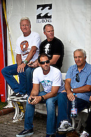 ASP Board members Randy Rarick (HAW), Grahman Stapleberg (USA), Doug Palladini (USA)and Rod Brooks (AUS). ASP Surfers, Events and Management Announce Plans for 2010 and Beyond..MUNDAKA, Euskadi/Spain (Saturday, October 10, 2009) - The October 2009 ASP Board of Directors meeting has completed, with all surfers, events and administration uniting to activate landmark improvements that make the ASP World Tour bigger and better for 2010 and beyond....Event No. 8 of 10 on the 2009 ASP World Tour, the Billabong Pro Mundaka optioned to run the man-on-man elimination Round 1 format on the opening day of the waiting period, completing eight heats, before entering it's current holding pattern, and as swell patterns have indicated, the decision to run the condensed format could prove vital... Photo:joliphotos.com