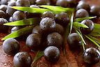 Photos &amp; pictures of the Brazilian acai berries the super fruit anti oxident from the Amazon. Acai berries has been used to help weight loss. Stock-fotos images