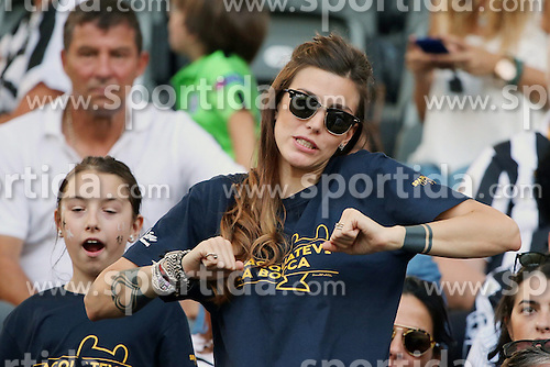06.06.2015, Olympia Stadion, Berlin, GER, UEFA CL, Juventus Turin vs FC Barcelona, Finale, im Bild Martina Maccari, Freundin von Leonardo Bonucci (Juventus Turin #19) // during the UEFA Champions League final match between Juventus FC and Barcelona FC at the Olympia Stadion in Berlin, Germany on 2015/06/06. EXPA Pictures &copy; 2015, PhotoCredit: EXPA/ Eibner-Pressefoto/ Sch&uuml;ler<br /> <br /> *****ATTENTION - OUT of GER*****