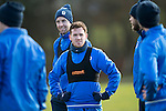St Johnstone Training&hellip;03.02.17<br />Danny Swanson pictured during training this morning at McDiarmid Park ahead of Snday&rsquo;s game against Celtic.<br />Picture by Graeme Hart.<br />Copyright Perthshire Picture Agency<br />Tel: 01738 623350  Mobile: 07990 594431