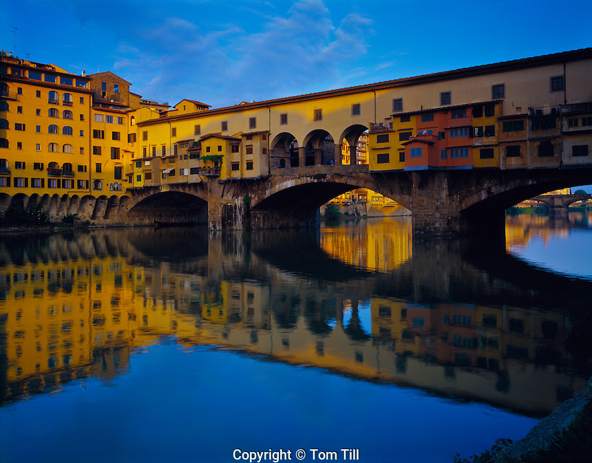 Pointe Veccchio          Florence, Italy   Tuscany Region   One of Europe's most historic bridges      Crosses Arno River