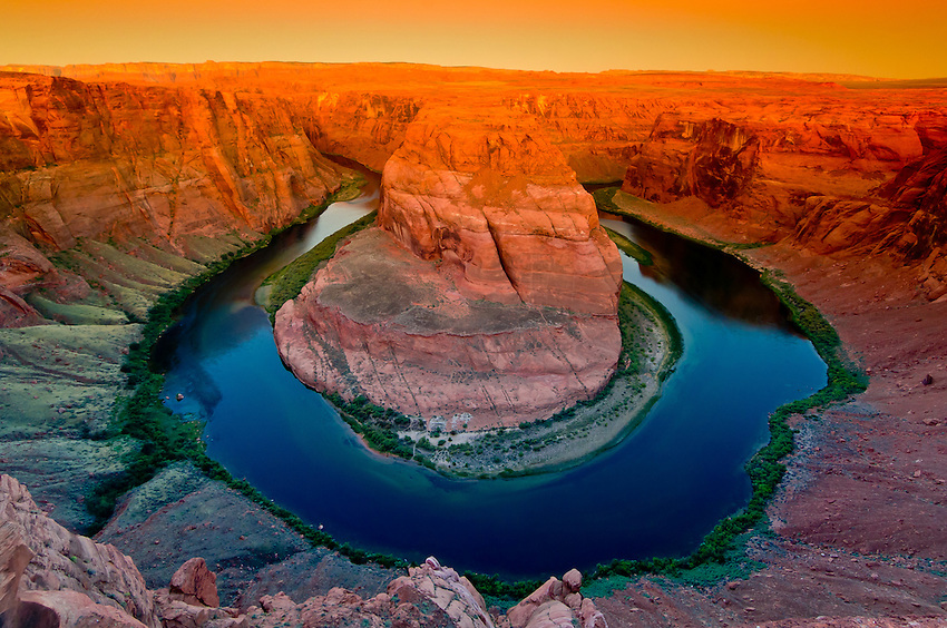 Image result for Horseshoe Bend - Colorado River near Page, Arizona, USA pic