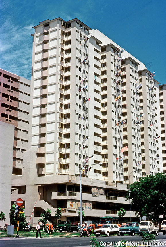 Singapore: High-rise apartment building. Photo '83.