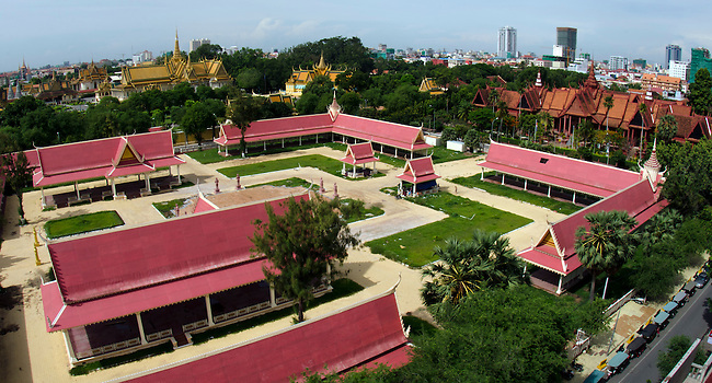 View of Royal Palace complex