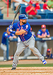3 March 2016: New York Mets catcher Nevin Ashley in action during a Spring Training pre-season game against the Washington Nationals at Space Coast Stadium in Viera, Florida. The Mets fell to the Nationals 9-4 in Grapefruit League play. Mandatory Credit: Ed Wolfstein Photo *** RAW (NEF) Image File Available ***