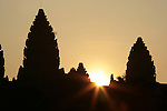 Angkor Wat is a temple complex in Cambodia, built for the king Suryavarman II in the early 12th century as his state temple and capital city. As the best preserved temple at the site, it is the only one to have remained a significant religious centre since its foundation&mdash;first Hindu, dedicated to Vishnu, then Buddhist. The temple is the epitome of the high classical style of Khmer architecture. It has become a symbol of Cambodia, appearing on its national flag and it is the country's primary attraction for visitors.