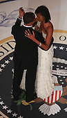 Washington, DC - January 20, 2009 -- United States President Barack Obama dances with First Lady Michelle Obama at the Commander-In-Chief's Inaugural Ball January 20, 2009 in Washington, DC.  Obama was sworn in as the 44th President of the United States, becoming the first African American to be elected President of the U.S. .Credit: Mark Wilson - Pool via CNP