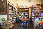 The Meadow, Portland, OR, Store owner Mark Bitterman in his shop, The Meadow, a salt, chocolate, wine and flower shop in the North Mississippi neighborhood of Portland, OR