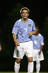 Scott Campbell, of UNC, on Tuesday October 4th, 2005 at Fetzer Field on the campus of the University of North Carolina Chapel Hill in Chapel Hill, North Carolina. The UNC Tarheels defeated the Elon University Phoenix 2-1 after overtime in an NCAA Division I Men's Soccer game.