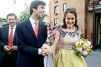 Hélène d' udekem d' Acoz - Wedding