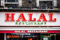 Halal Restaurant Sign - Aug 2013.