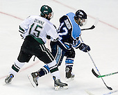 Jeff Dunne (Michigan State - Grover, MO), Keith Johnson (University of Maine - Windsor, CT) - The Michigan State Spartans defeated the University of Maine Black Bears 4-2 in their 2007 Frozen Four semi-final on Thursday, April 5, 2007, at the Scottrade Center in St. Louis, Missouri.