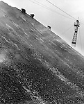 Coal searchers on slagheap near Henworth, 1937
