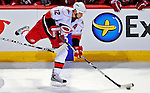 21 December 2008: Carolina Hurricanes' center Eric Staal in action during overtime against the Montreal Canadiens at the Bell Centre in Montreal, Quebec, Canada. The Hurricanes defeated the Canadiens 3-2 in overtime. ***** Editorial Sales Only ***** Mandatory Photo Credit: Ed Wolfstein Photo