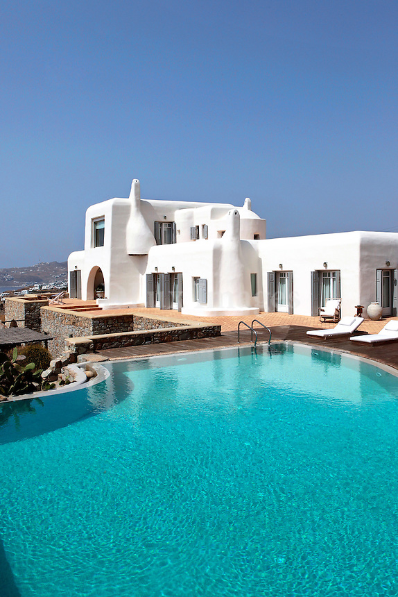 cycladic white house
