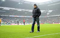 FUSSBALL   1. BUNDESLIGA   SAISON 2012/2013    22. SPIELTAG SV Werder Bremen - SC Freiburg                                16.02.2013 Trainer Christian Streich (SC Freiburg)