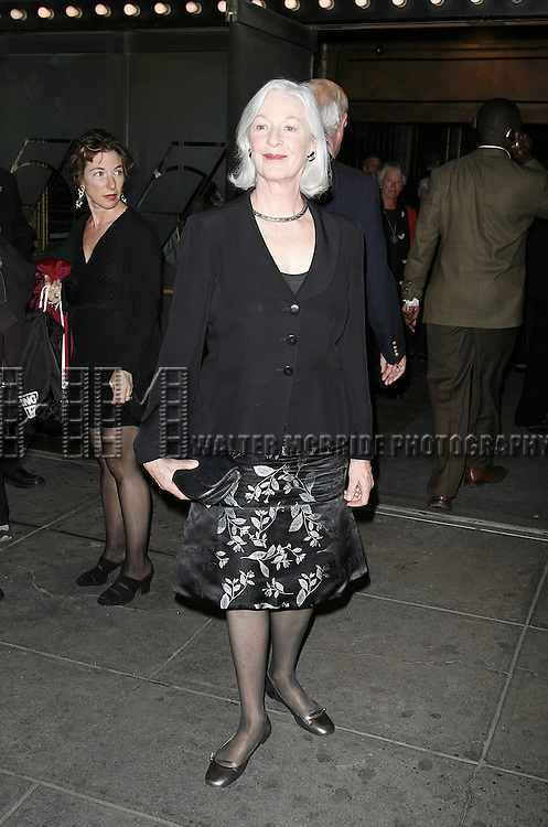 Jane Alexander attending the Opening Night performance of the Roundabout Theatre Company's Broadway production of THE THREEPENNY OPERA at Studio 54 in New York City..April 20, 2006 .© Walter McBride/WM Photography