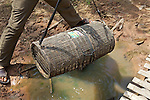 Fish Trap Commonly Used By Khmer People