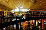 Mall Shops, Gilded Coffered Ceiling, Grand Concourse, Union Station, Washington DC