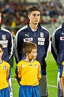 PESCARA (PE) 12/10/2012: QUALIFICAZIONE EUROPEI UNDER 21 ITALIA - SVEZIA. PARTITA VINTA DALL'ITALIA CON UN GOAL DI IMMOBILE. NELLA FOTO FRASCATORE ITALIA  FOTO ADAMO DI LORETO
