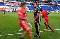 Harrison, NJ - Wednesday Aug. 03, 2016: Tony Jouaux during a CONCACAF Champions League match between the New York Red Bulls and Antigua at Red Bull Arena.
