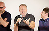Peter Hook, Mike Pickering and Graeme Park reunited for a special event ahead of the release of the HACIENDA CLASSICAL album (on 21st Oct 2016) this month, and the airing of the HACIENDA HOUSE ORCHESTRA documentary on Channel 4.<br /> 13th October 2016 <br /> Central London, Great Britain <br /> <br /> Peter Hook is executive producer of HACIENDA CLASSICAL.  It takes the un-mistakeable sound of legendary Manchester club FAC 51 The Hacienda, and puts a symphonic spin on classics such as 'You've Got the Love' and 'Ride on Time'. The album follows unprecedented demand for live HACIENDA CLASSICAL shows, including a Royal Albert Hall concert which sold out in minutes<br /> <br /> Peter Hook<br /> <br /> <br /> <br /> Photograph by Elliott Franks <br /> Image licensed to Elliott Franks Photography Services