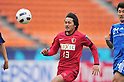 Shinzo Koroki (Antlers), APRIL 19, 2011 - Football : AFC Champions League 2011 Group H, between Kashima Antlers 1-1 Suwon Samsung Bluewings at National Stadium, Tokyo, Japan. The game started at 2pm on Tuesday afternoon in Tokyo as Kashima are unable to use their home stadium as a result of the earthquake and tsunami that hit the east coast of Japan on March 11th 2011 and due to the ongoing nuclear crisis in Fukushima which has reduced the electricity supply to the region meaning that floodlit night games cannot be justified. (Photo by Jun Tsukida/AFLO SPORT) [0003]